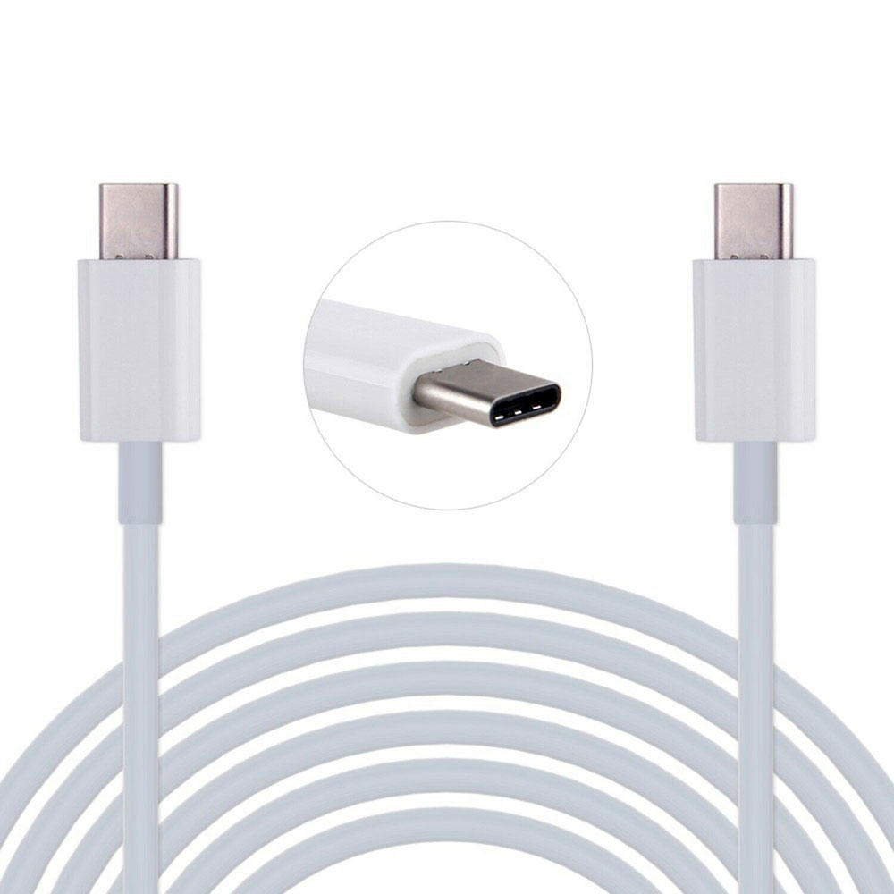 2PCS USB 3.1 Type C to Type C Male to Male Sync Fast Charging Cable Leadfor MacBook